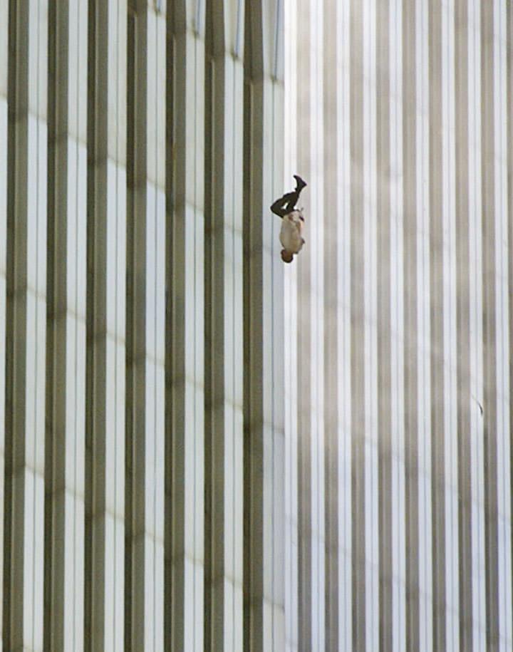 L'homme qui tombe