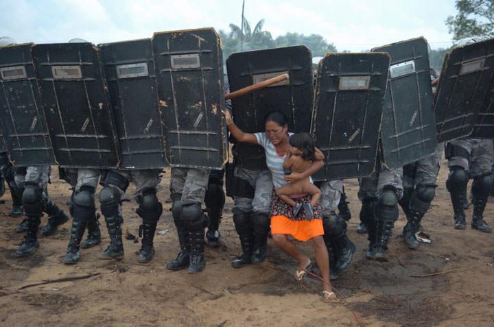 L'opposition des paysans brésiliens
