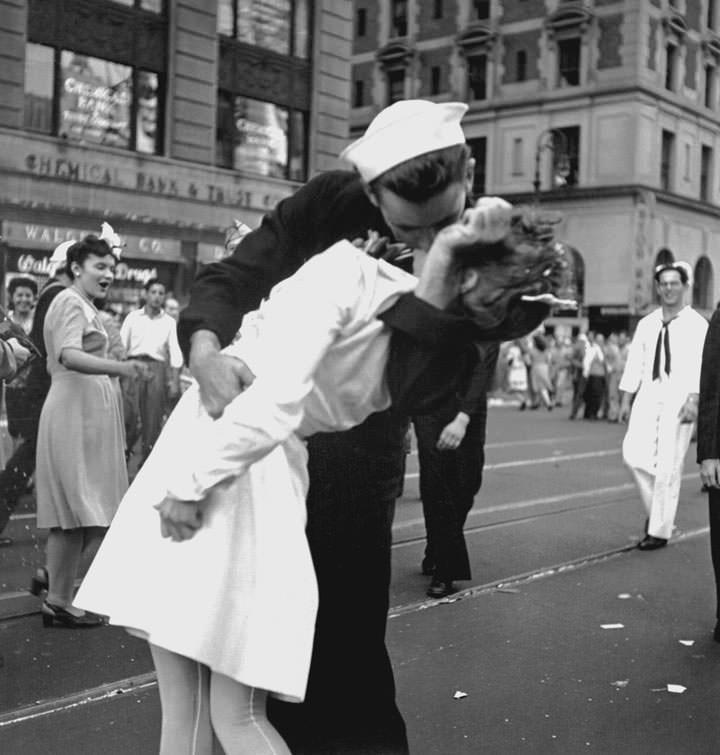 Le baiser de Times Square