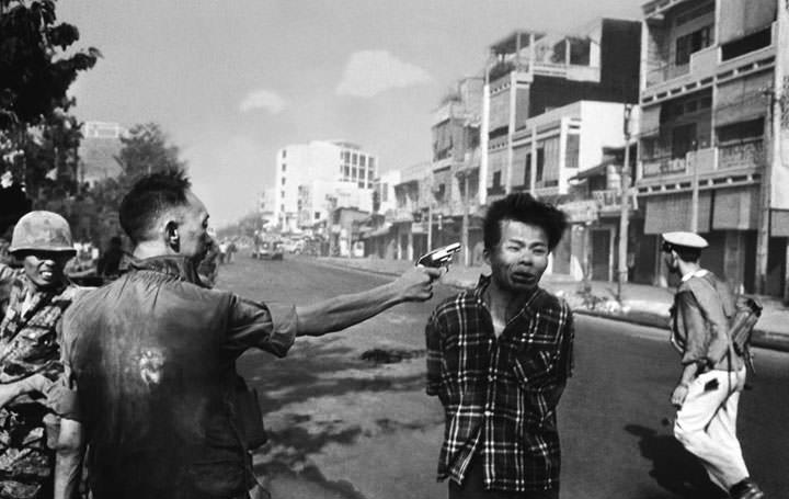 Exécution d'un rebelle Viêt-Cong