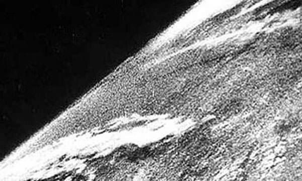 La première photo prise de l'espace en 1946