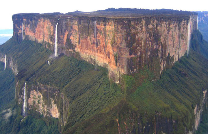Le mont Romaima (Venezuela)