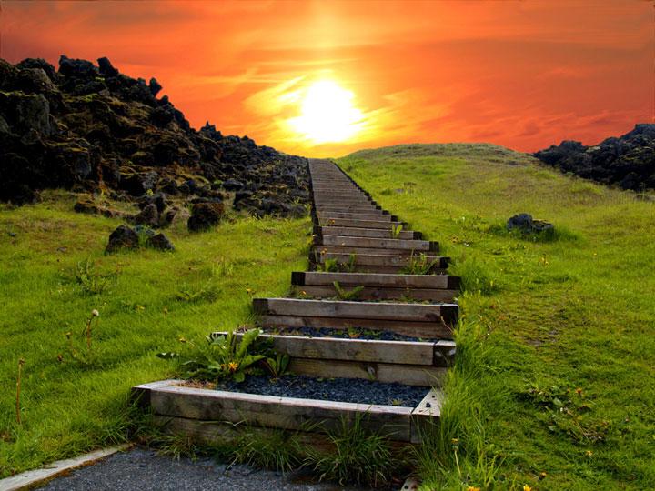 Le chemin vers le paradis (Islande)