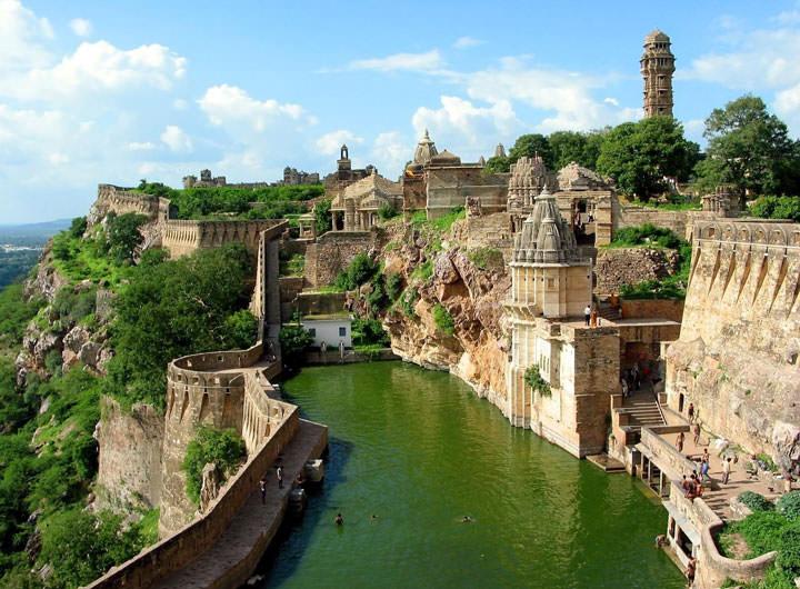 Le Fort Chittorgarh (Inde)
