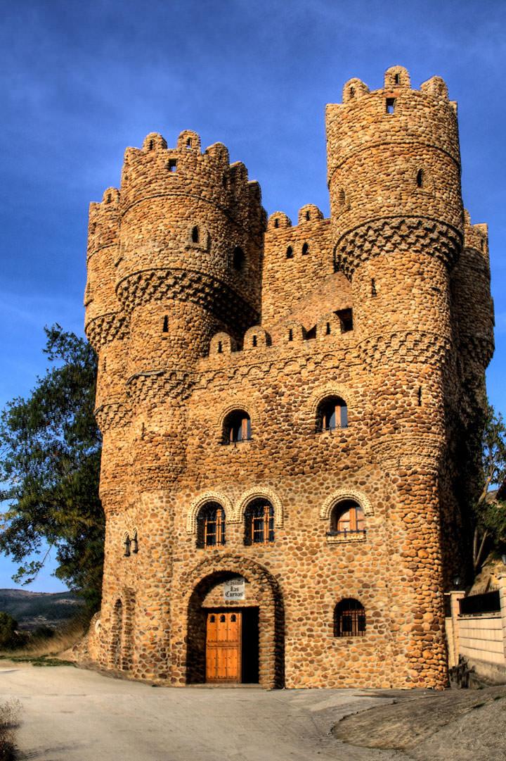 Le château de La Cueva (Espagne)