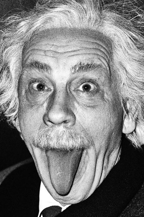 "John comme ""Albert Einstein"""