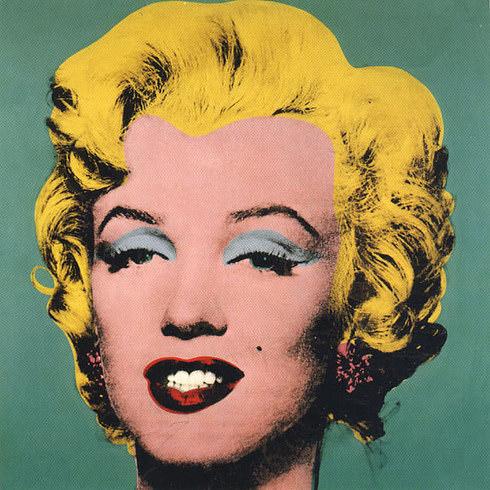 "John comme ""Marilyn Monroe Green"""