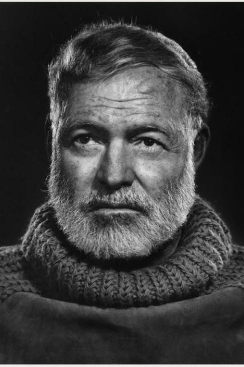 John comme Ernest Hemingway