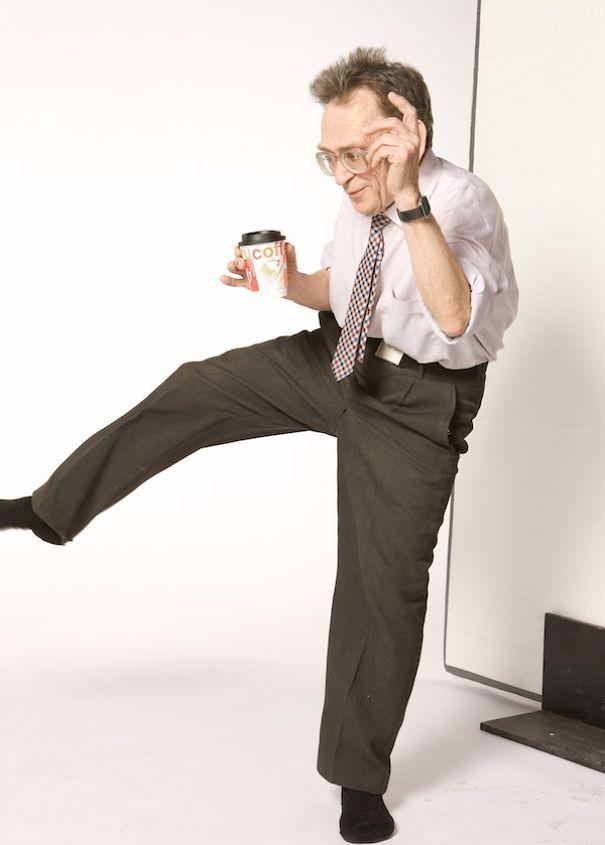A 75 ans, Valentin Badich danse tout et n'importe quoi
