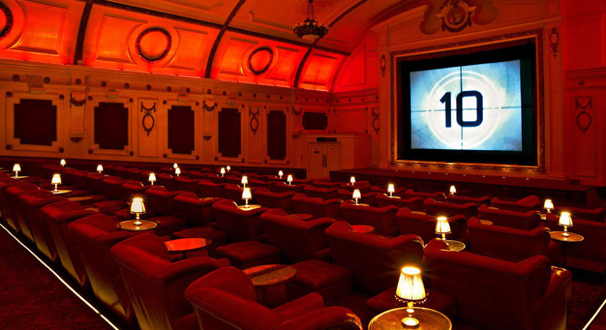 L'Electric Cinema (Notting Hill, Royaume-Uni)