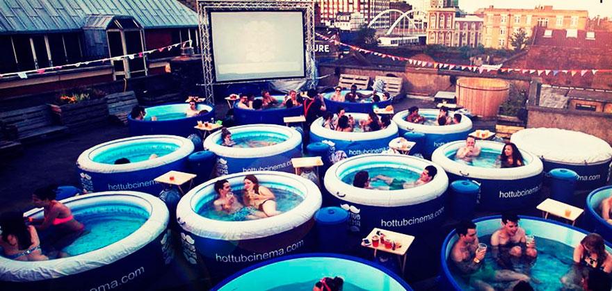 Le Hot Tube Cinema (Londres, Royaume-Uni)