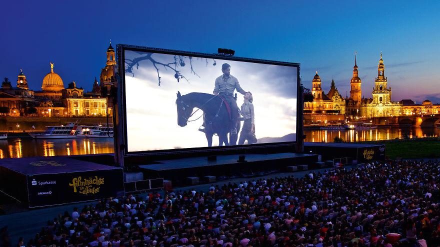 Filmnächte Am Elbufer, (Dresden, Allemagne)