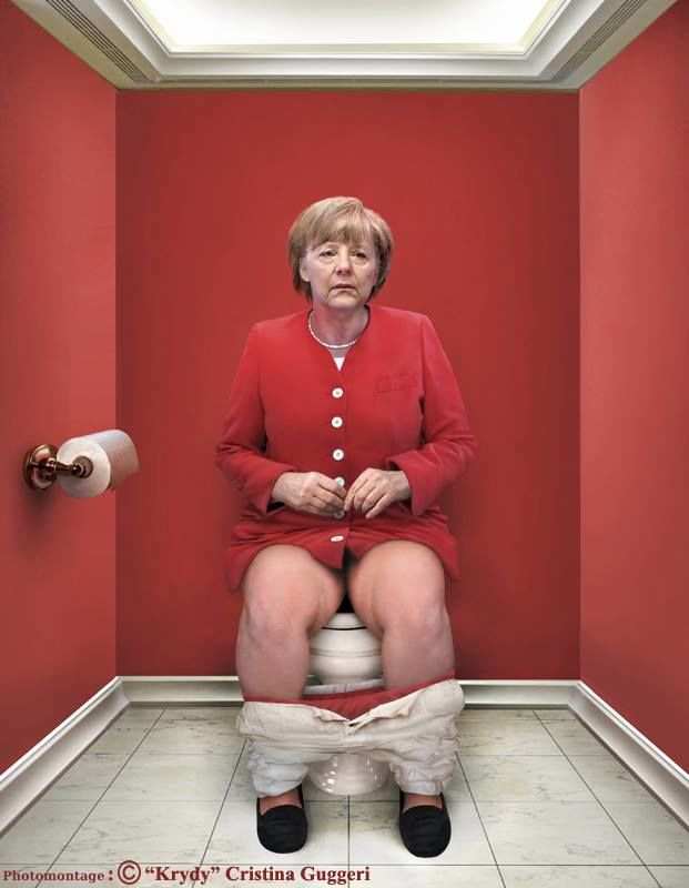 La Chancelière fédérale allemande Angela Merkel
