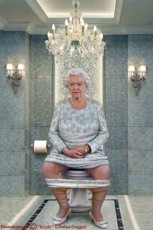 La Reine d'Angleterre Elisabeth II