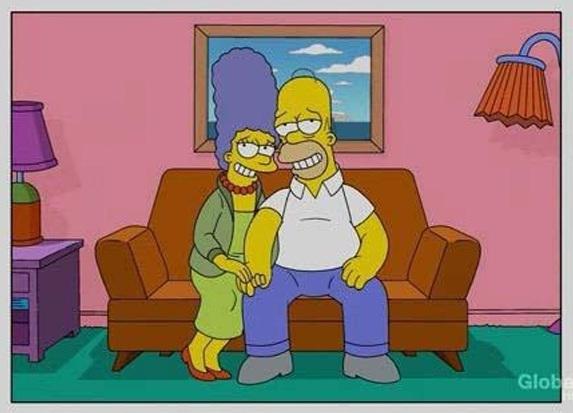 Comment vieillit la célèbre famille Simpson ? 1