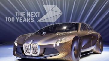 Le centenaire de BMW passe par la présentation d'un concept pour les 100 ans à venir