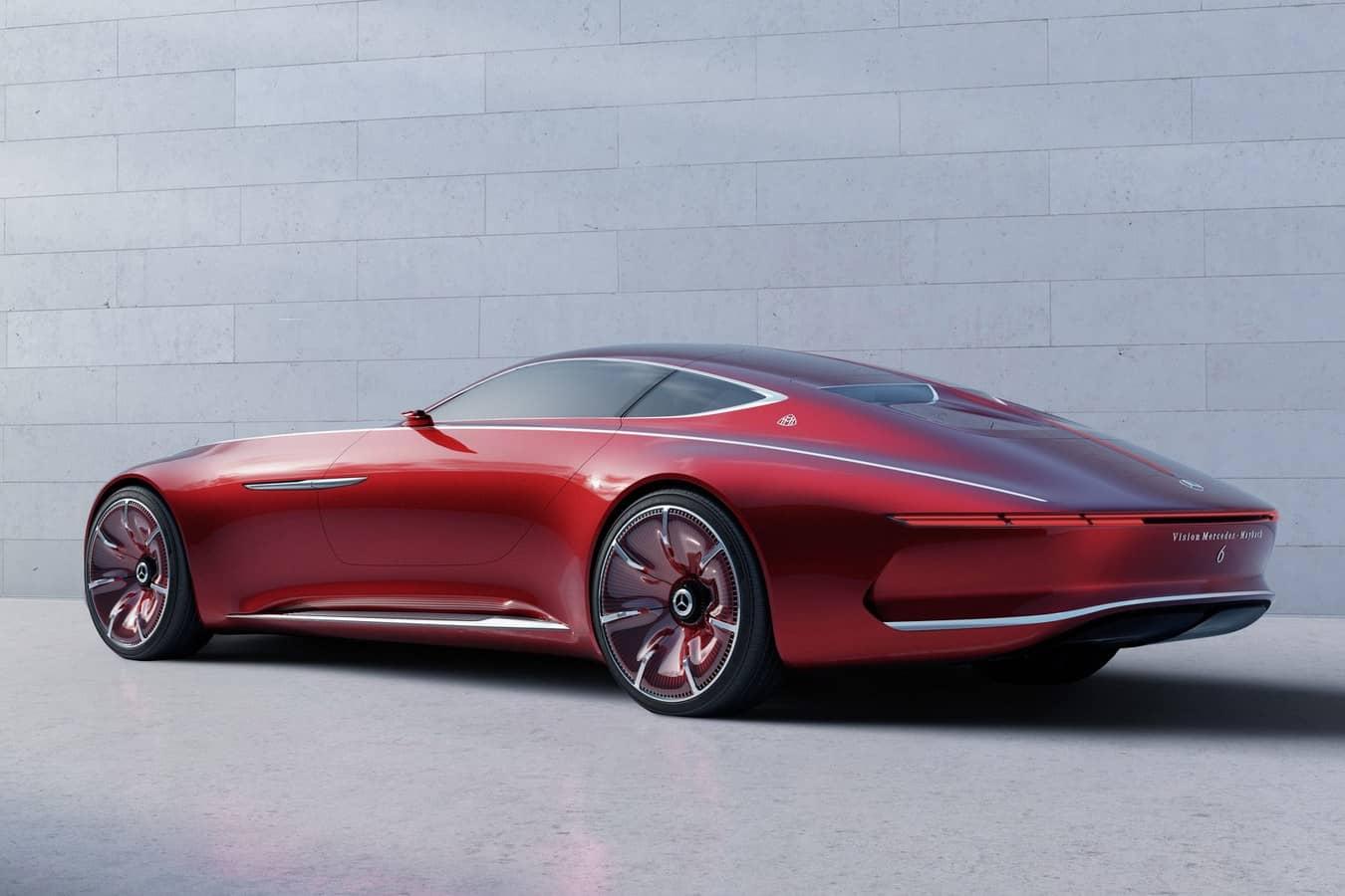 La Maybach Vision 6 pourrait bien être la Mercedes la plus luxueuse jamais conçue 3