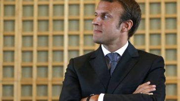 À gauche, Emmanuel Macron arrive en tête des sondages en vue des présidentielles