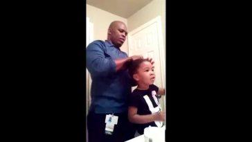 Une vidéo montrant les encouragements d'une fillette de 3 ans à son papa devient virale